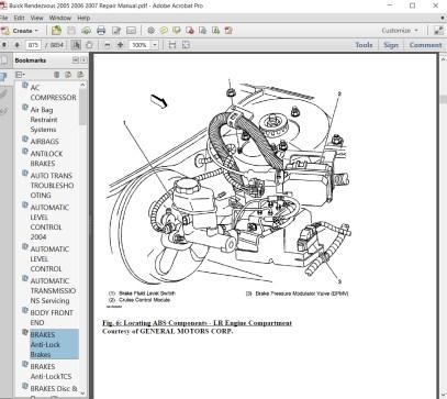 Buick Rendezvous Fuel Line Diagram