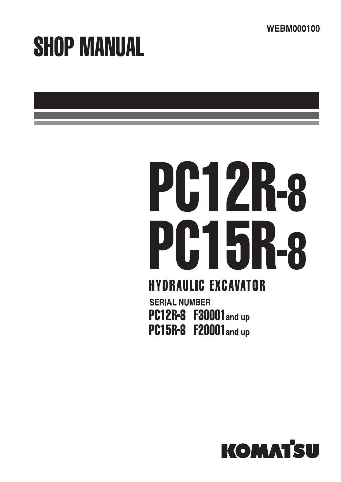 Komatsu Shop Manual PC228US-8, PC228USLC-8 50001 and u