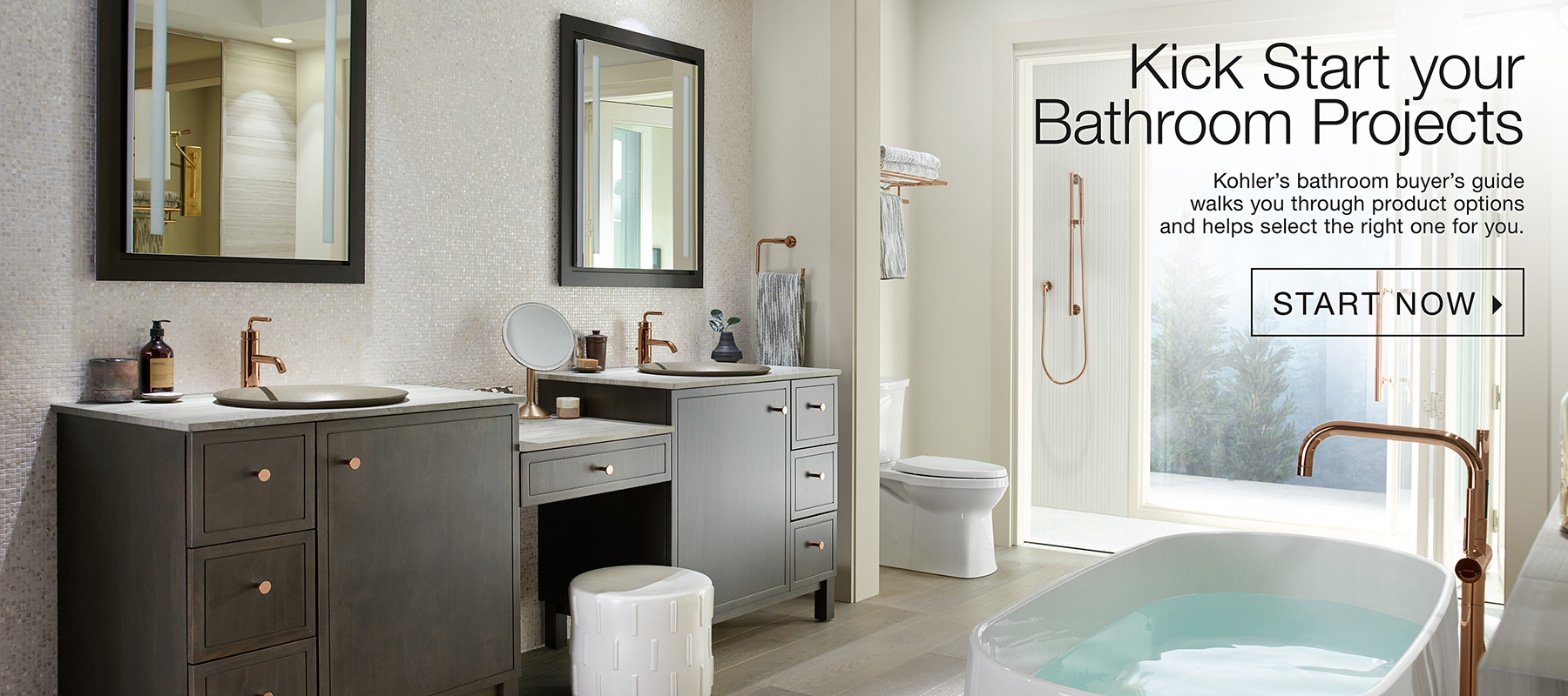bath and kitchen blue color cabinets kohler bathroom products at the ensuite showroom