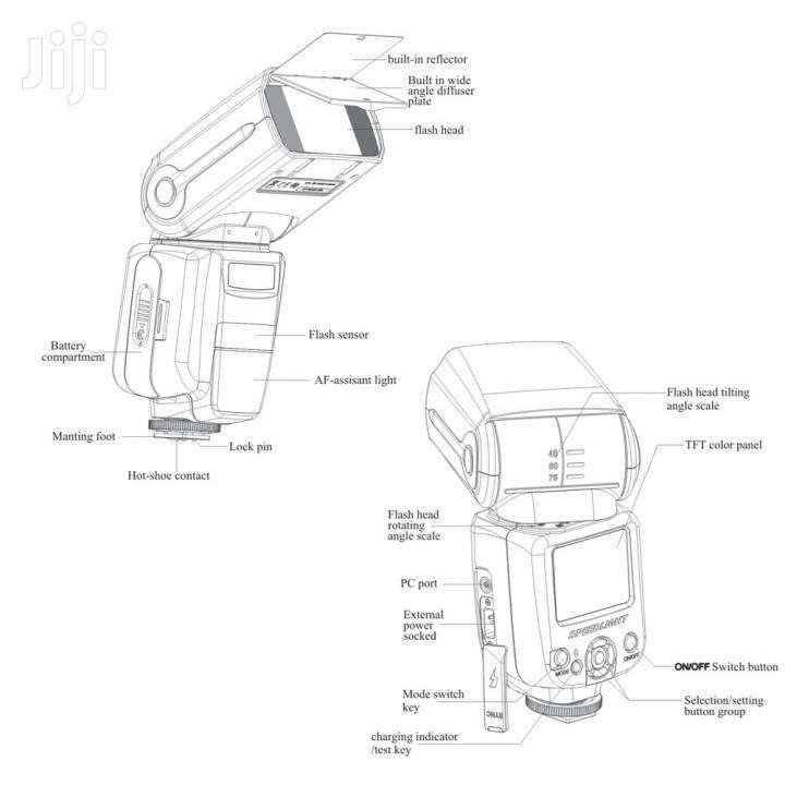NEW Pro Universal Photography Camera Flashlight/Speedlight