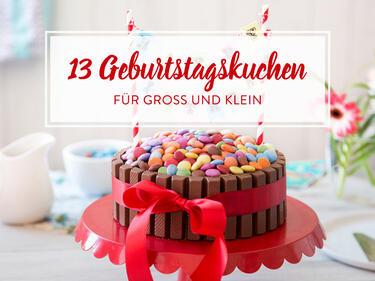 Geburtstagskuchen fr kleine und groe Geburtstagskinder