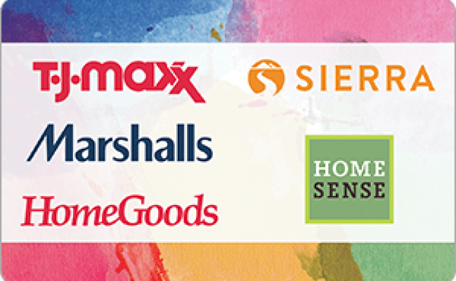 Buy T J Maxx Gift Cards With Credit Cards