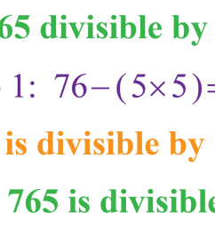 Divisibility Rules - Definition [ 676 x 1265 Pixel ]