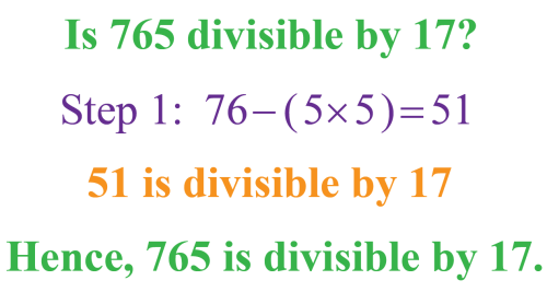 small resolution of Divisibility Rules - Definition
