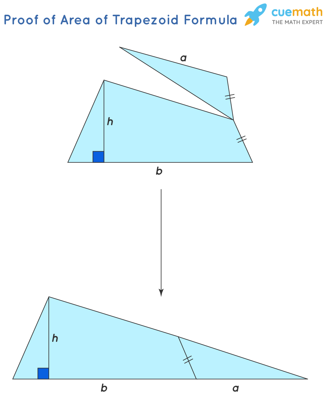 hight resolution of Area of Trapezoid - Formula