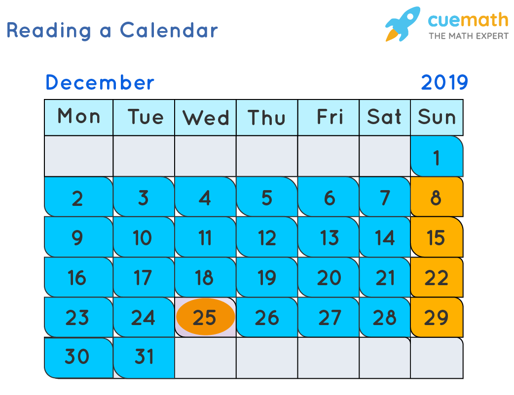 hight resolution of Reading a Calendar   Days of week   Solved Examples