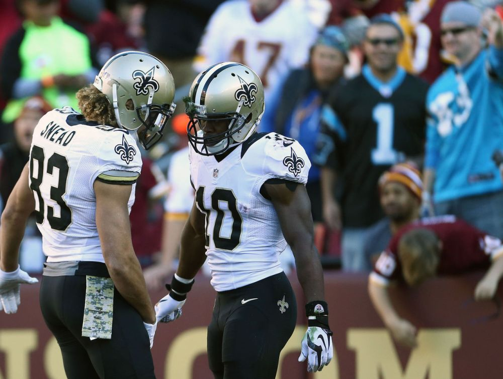 The Saints have many receiving options, so where does Thomas fit in?