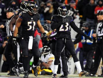 Image result for baltimore ravens black on black jerseys