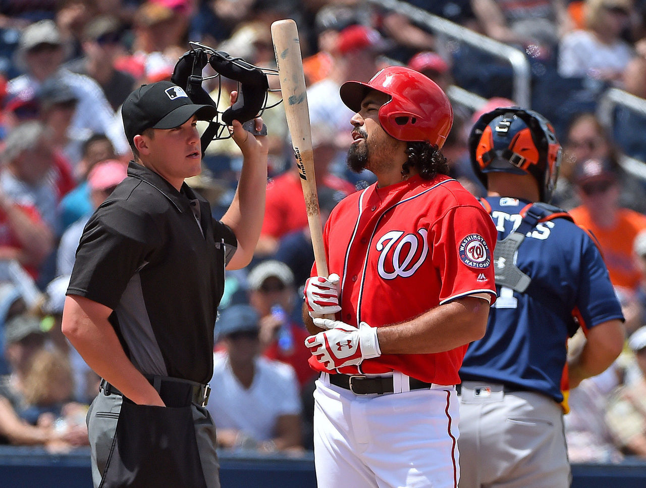 Nationals' Rendon Missing From Opening Day Lineup TheScore Com