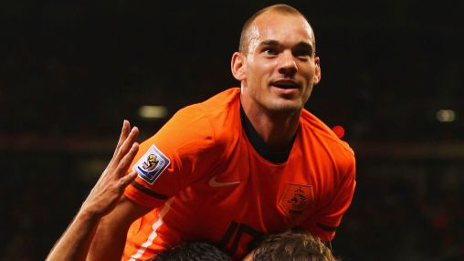 Image result for Netherlands great Sneijder retires from football