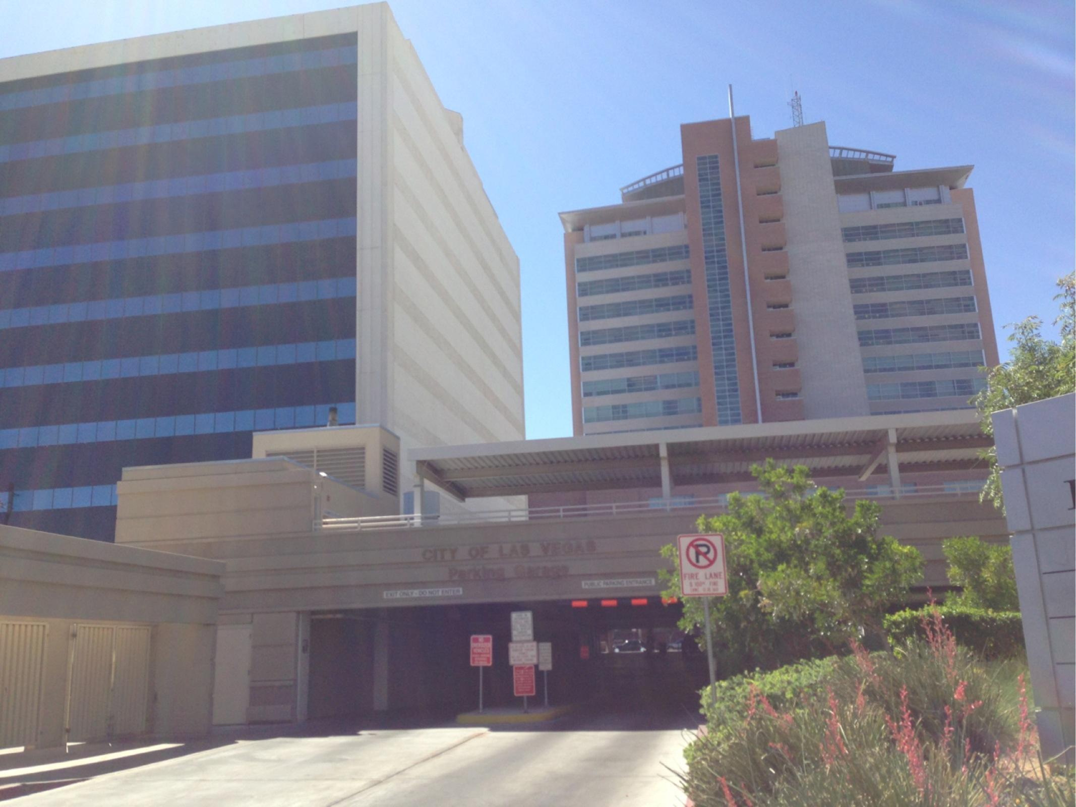 City Of Las Vegas Parking Garage  Parking in Las Vegas  ParkMe