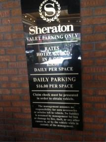 Sheraton Gunter Hotel San Antonio - Parking In