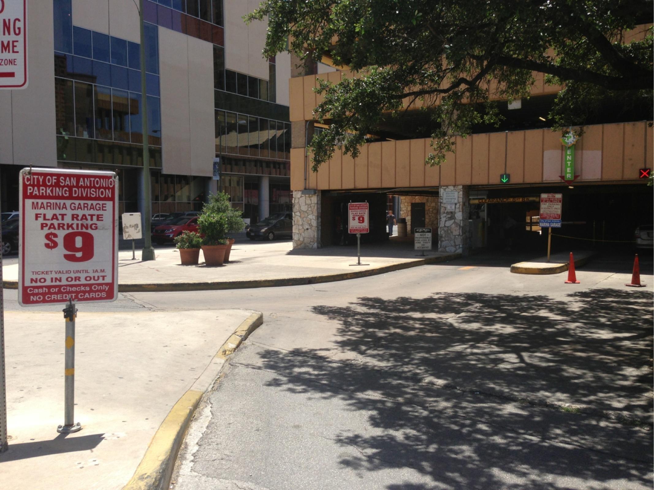 Marina Garage  Parking in San Antonio  ParkMe