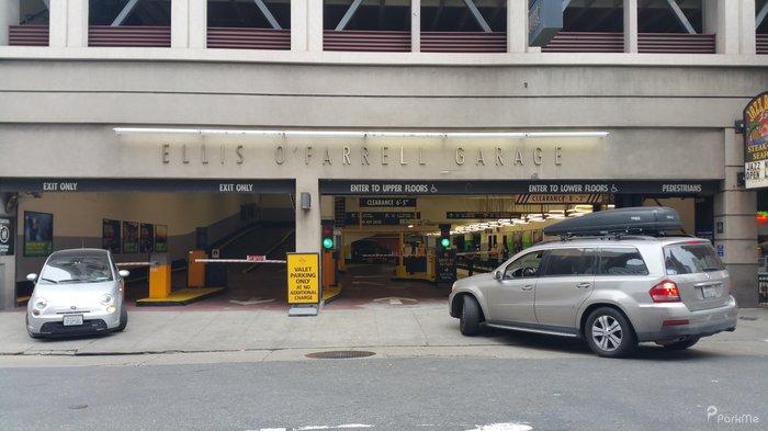 Ellis OFarrell Garage  Parking in San Francisco  ParkMe