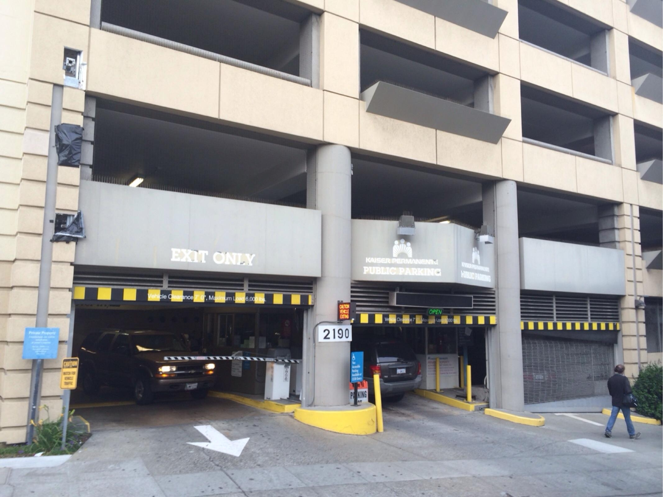 2190 OFarrell St Garage  Parking in San Francisco  ParkMe
