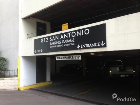 812 San Antonio Parking Garage  Parking in Austin  ParkMe