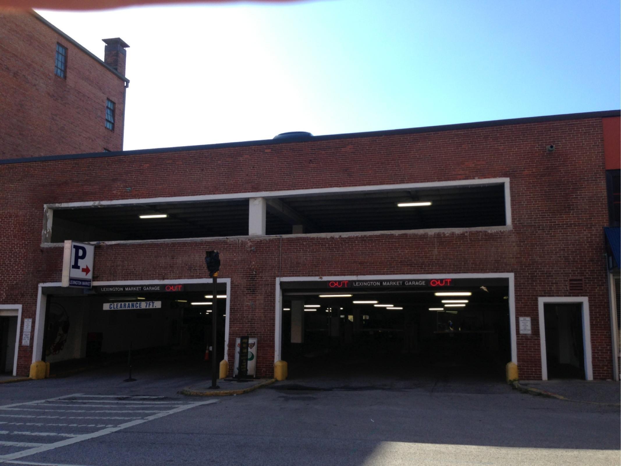 Lexington Market Garage  Parking in Baltimore  ParkMe