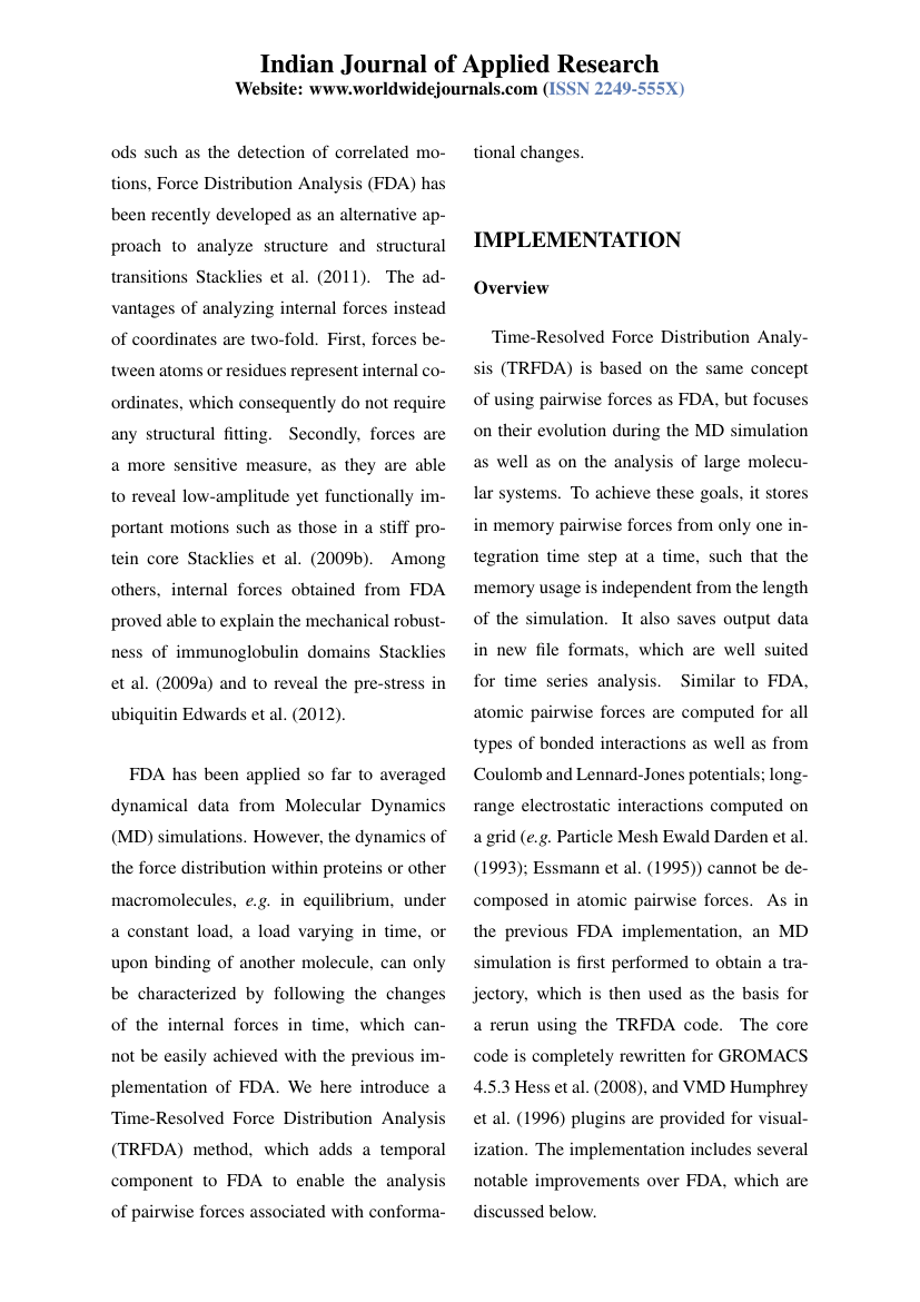 World Wide Journals Indian Journal Of Applied Research Template