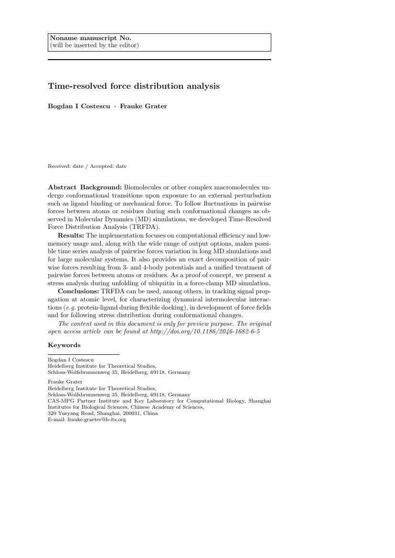 Springer Journal Of Cheminformatics Template