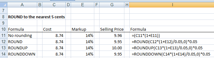 How to Round Numbers in Excel Using 3 Rounding Functions