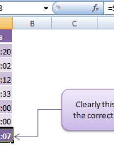 Calculating time in excel also  my online training hub rh myonlinetraininghub