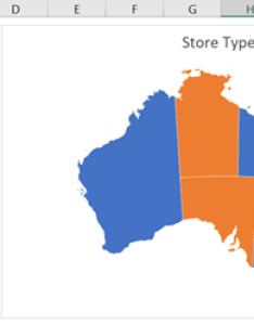 Category map chart also excel charts  my online training hub rh myonlinetraininghub
