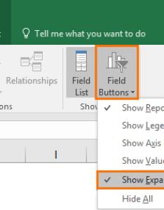Excel pivot chart drill down buttons also  my online training hub rh myonlinetraininghub