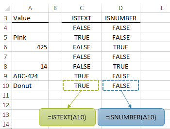 Excel Test if a Range Contains Text, Numbers or is Empty • My Online ...