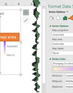 Format data series also excel map charts  my online training hub rh myonlinetraininghub