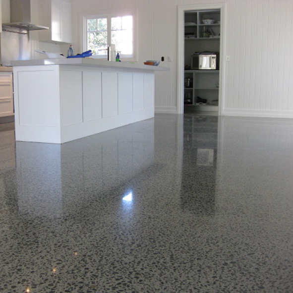Concrete Floor Finishes Combo for polished designer or