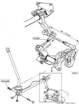 Talbot Express Citroen C25 Fiat Ducato Mk1 Peugeot J5 Gear