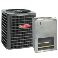 2 Ton 14 SEER Central Air Conditioner System Goodman GSX14 ...