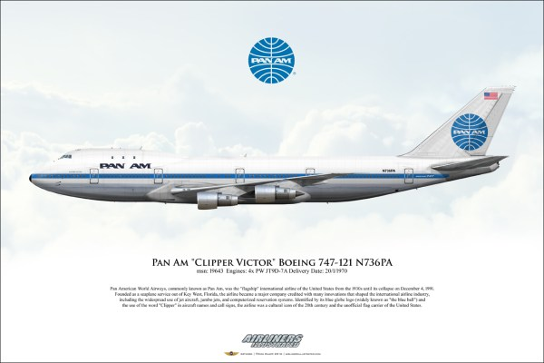 """airliners illustrated pan """"clipper"""