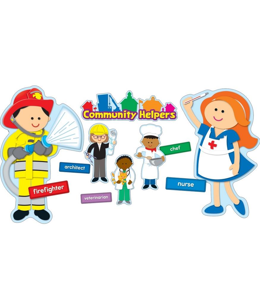 hight resolution of community helper clipart