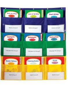 also center storage pocket chart rh educationalresources