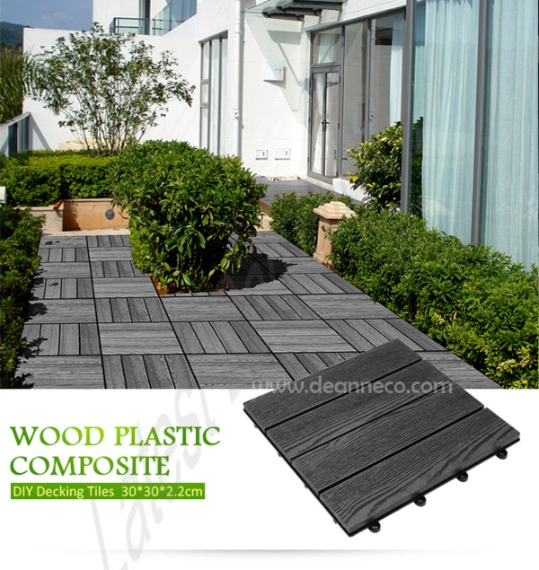 DIY Composite Decking Tiles 12 per piece supplying from