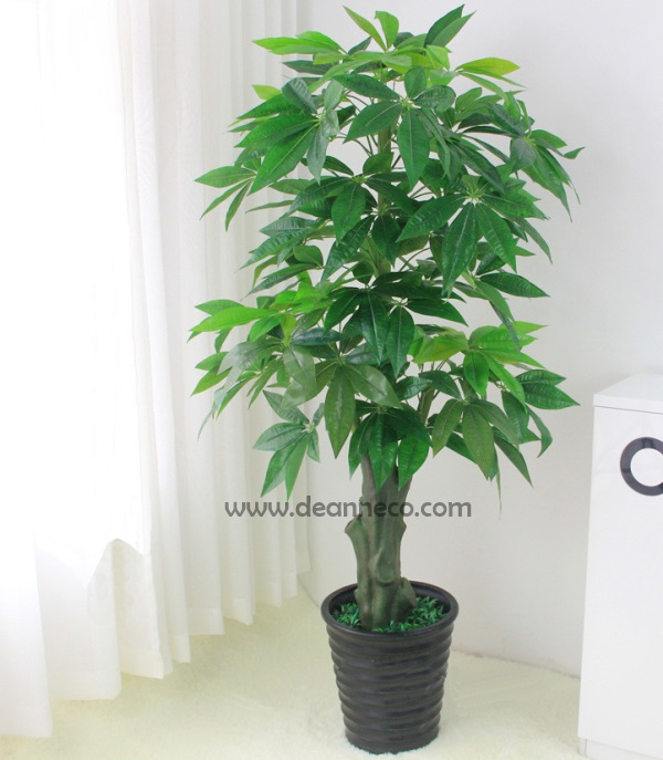 artificial plants pachira aquatica