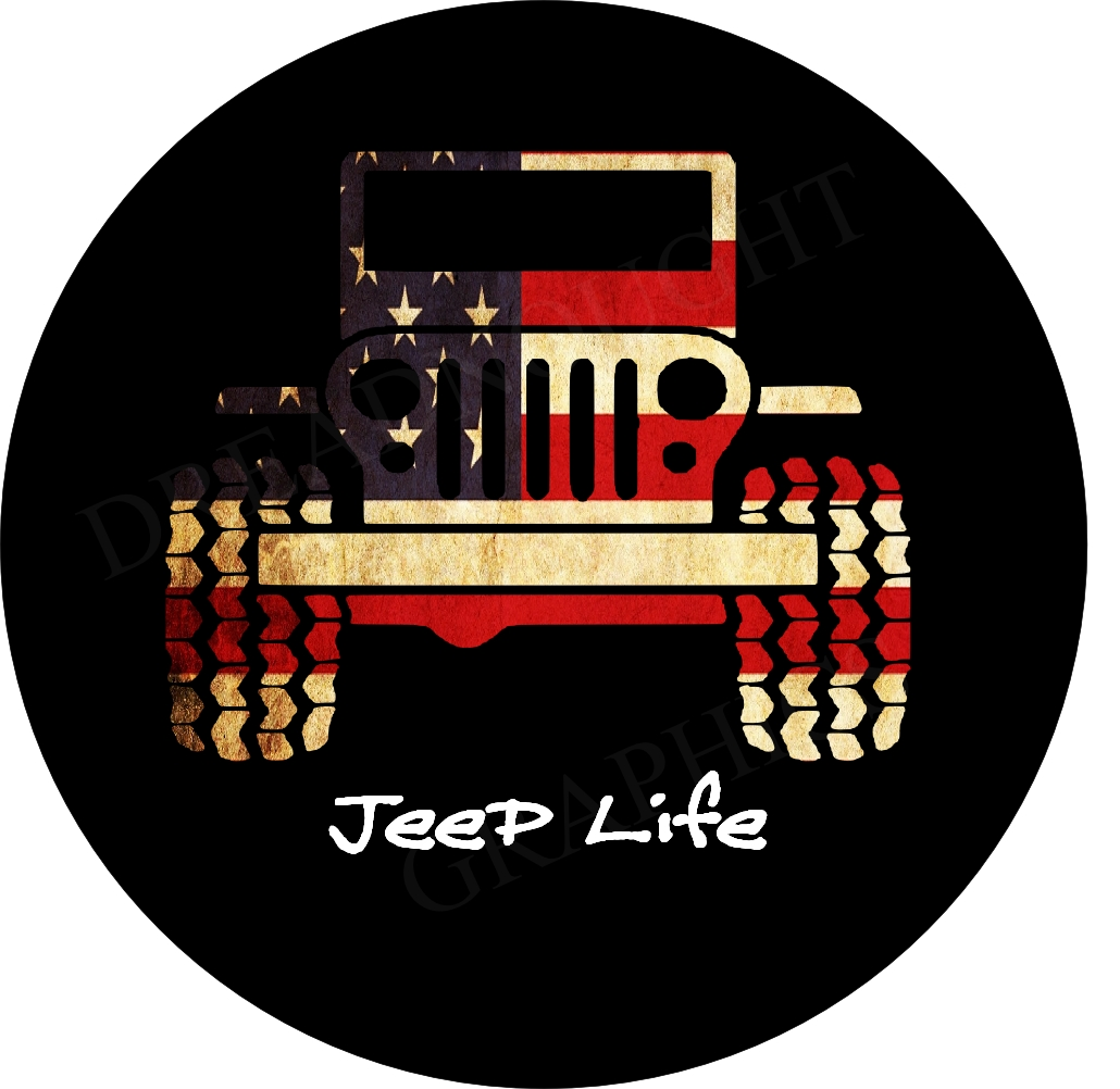 Personalized Spare Wheel Covers