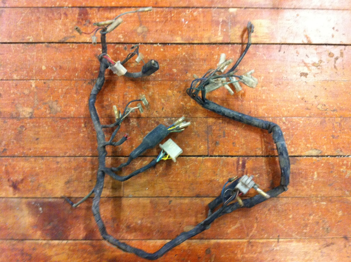 hight resolution of 1973 honda cb350 wiring harnes