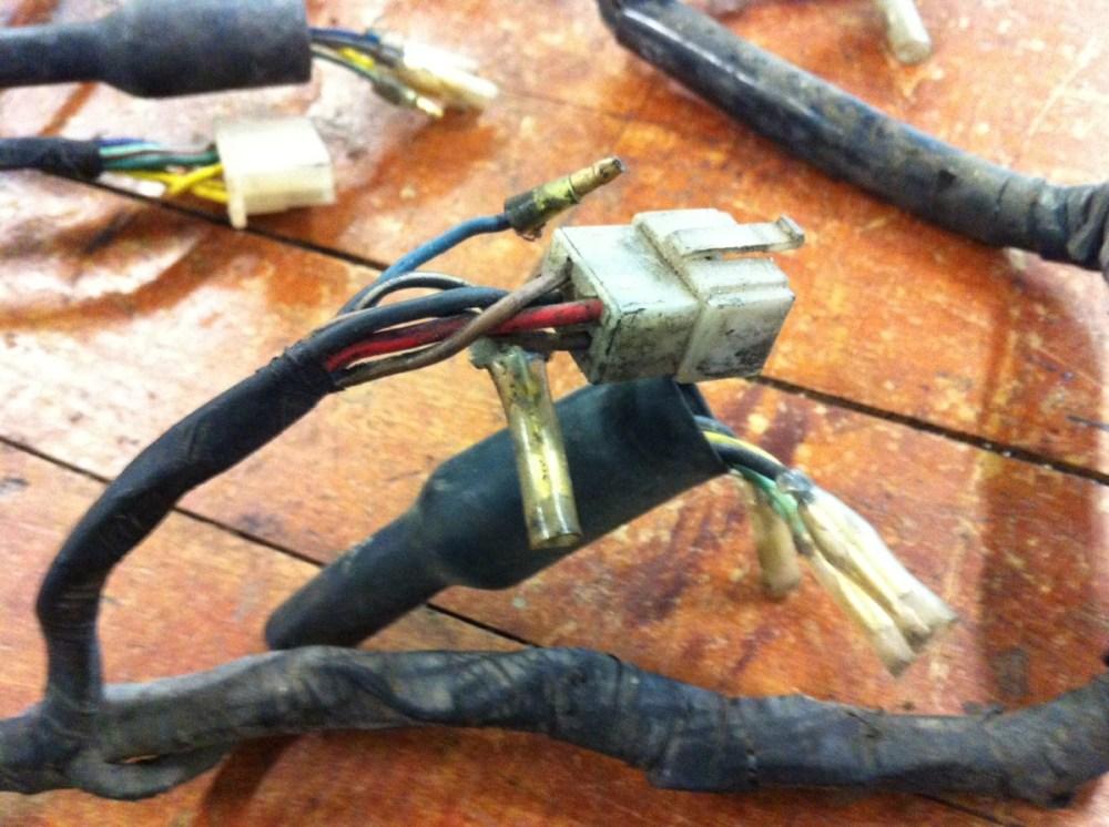 medium resolution of 1973 honda cb350 wiring harnes
