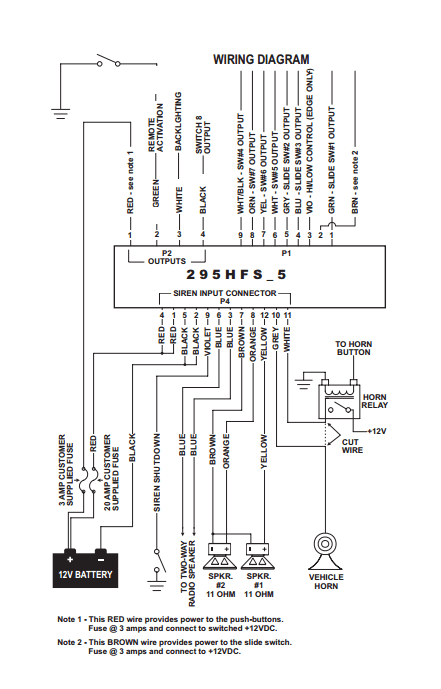 Whelen Control Head Wiring Diagram Whelen Strobe Light Wiring