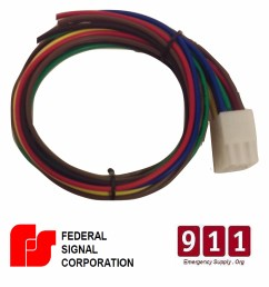 federal signal siren power harness plug cable 12 pin pa300 federal signal pa300 ss2000 wiring harness power plug cable fire ems [ 1946 x 2048 Pixel ]
