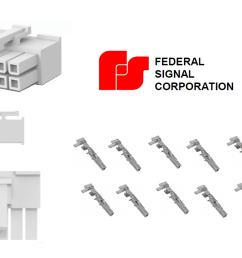 federal pa300 10 pin wiring diagram [ 1074 x 747 Pixel ]