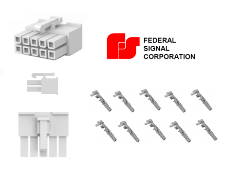 small resolution of federal pa300 10 pin wiring diagram