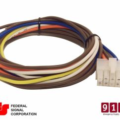 Federal Signal Pa300 Wiring Diagram 3 Way Light Switch Nz Siren Power Harness 10 Pin Cable 690009