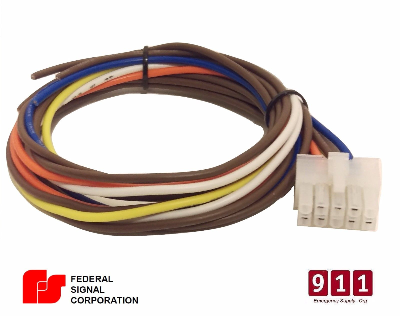 federal signal pa300 siren wiring diagram viper alarm 350hv power harness 10 pin cable 690009