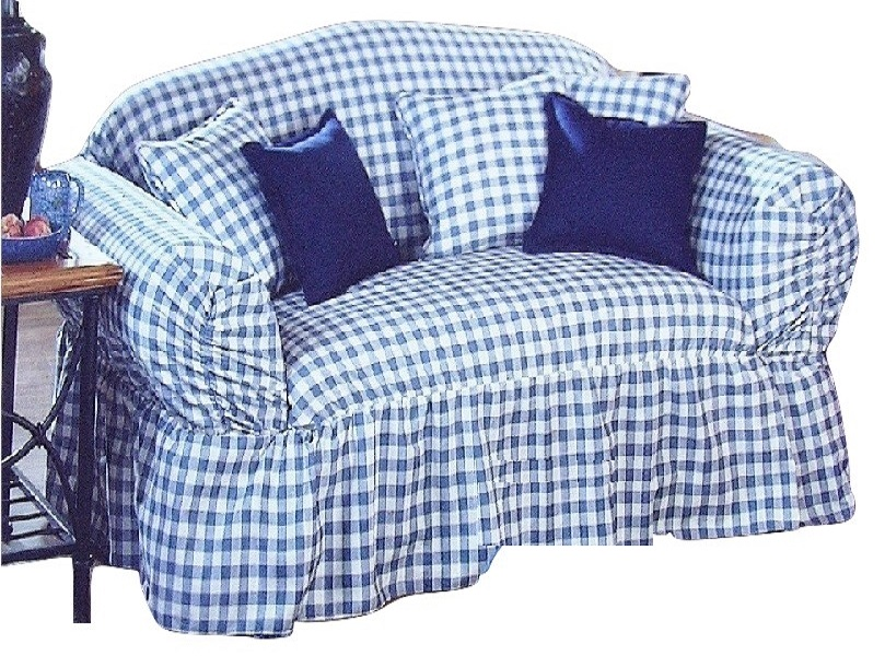 dual reclining sofa and loveseat red faux leather microfiber plush sectional sure fit slipcover blue check ruffle skirt box or t ...