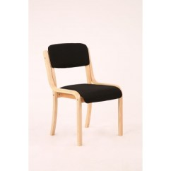 Meeting Room Chairs The Revolving Chair 4 Leg Stacking Beech Wood Framed Conference Http