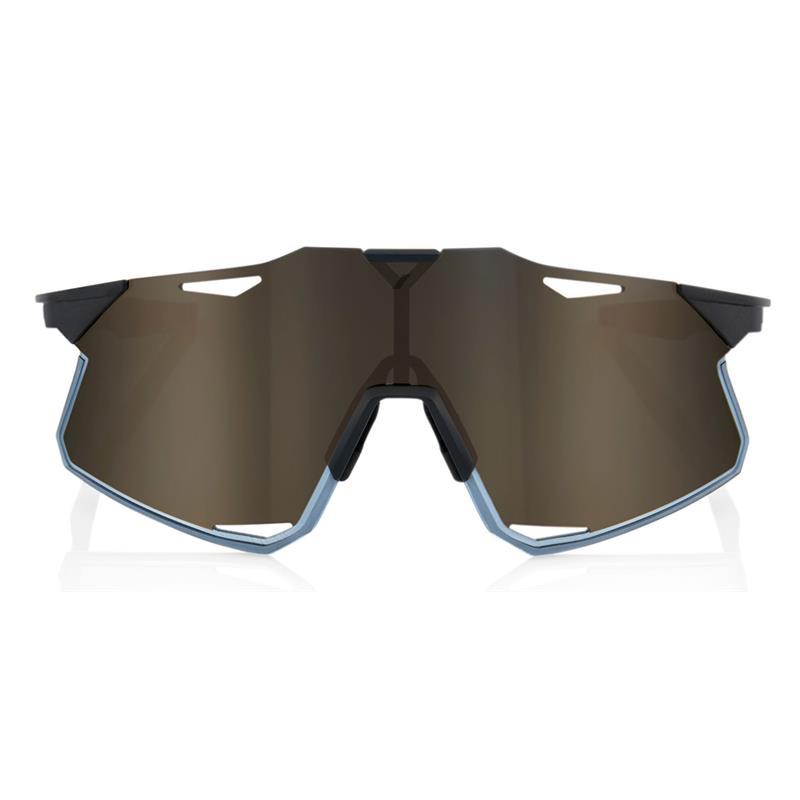 Okulary 100% HYPERCRAFT Matte Black - Soft Gold Mirror Lens