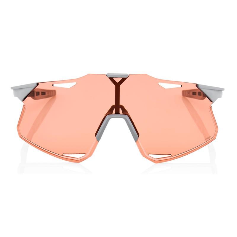 Okulary 100% HYPERCRAFT Matte Stone Grey - HiPER Coral Lens
